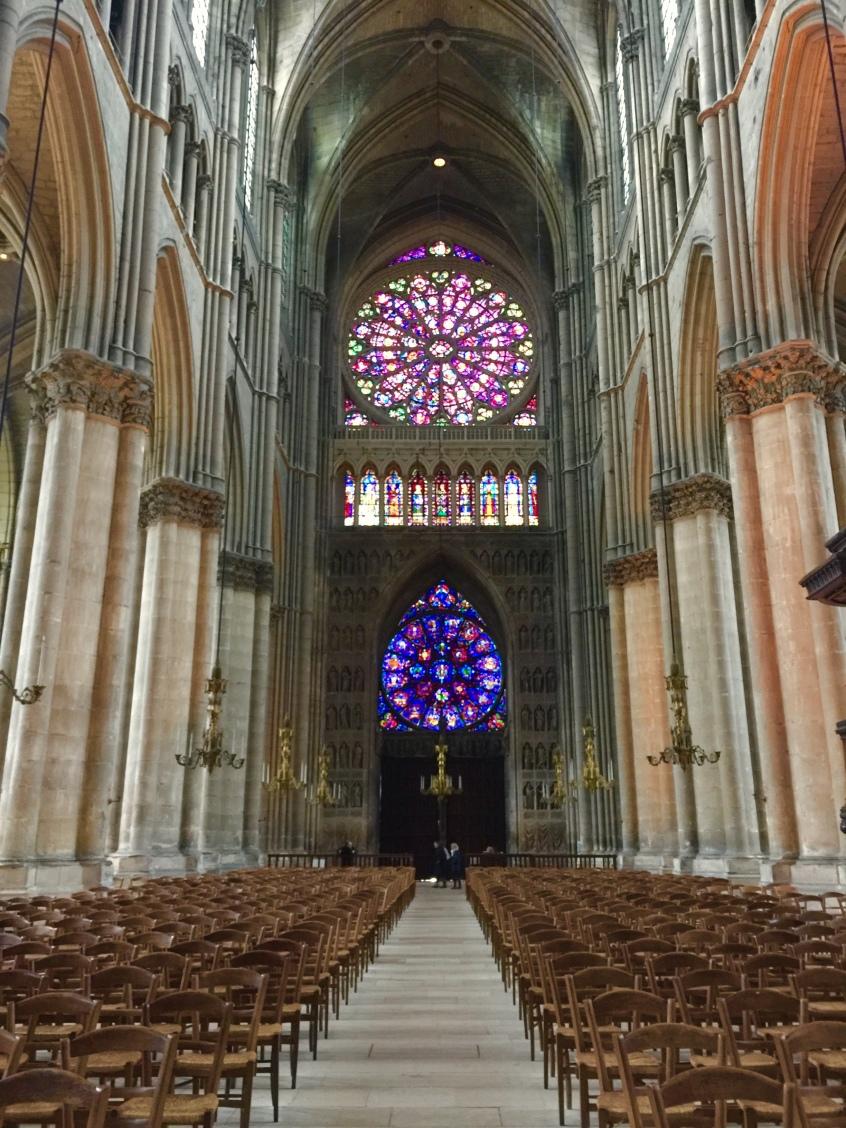 Inside Notre Dame: Main door